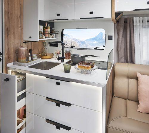 cuisine haut de gamme camping car